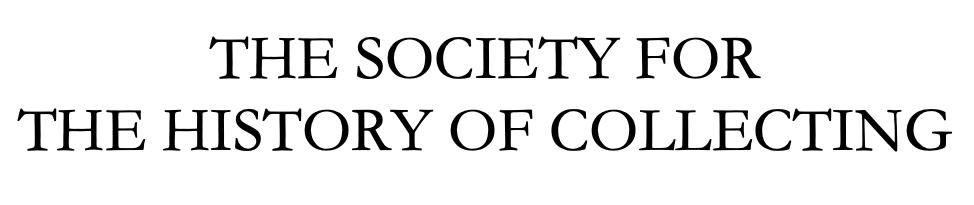 Society History Collecting