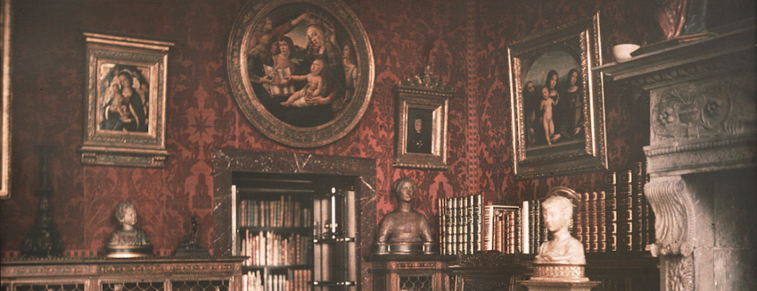 Interior of JP Morgans Library